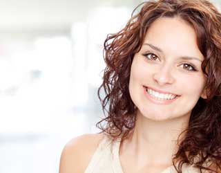 Smiling Woman Cosmetic Dentistry